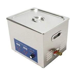 10L 120kHz haute fréquence multifonctionnel en acier inoxydable industriel Digital nettoyeur à ultrasons 10L