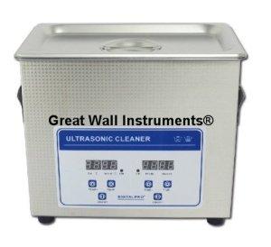 120W, 3,2L Digital Commercial Grade Lab Chauffage Nettoyeur à Ultrasons Lunettes Bijoux Nettoyage 110V/220V avec panier