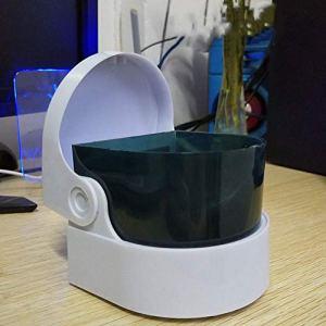 ASSteel Mini nettoyeur à ultrasons pour bijoux et lunettes de nettoyage professionnel