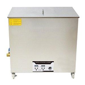 BAOSHISHAN 130L Nettoyeur à ultrasons Machine de nettoyage par ultrasons industrielle 2160W 28KHZ avec panier gratuit pour verres à bijoux grande capacité