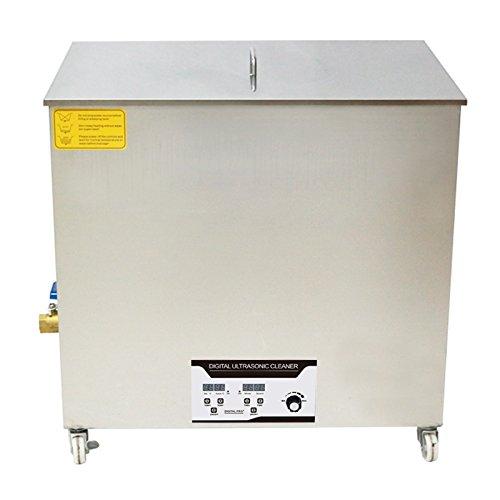 BAOSHISHAN 130L Nettoyeur à ultrasons Machine de nettoyage par ultrasons industrielle 2160W 40KHZ avec panier gratuit pour verres à bijoux