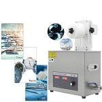 Cgoldenwall Ps-30al 6.5L Digital ultrasonique Vinyle Nettoyant pour disque vinyle à ultrasons machine de nettoyage à ultrasons Rondelle (Puissance réglable) 6 Discs