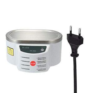 Gecheer Mini taille ménage numérique nettoyeur à ultrasons bijoux montres lunettes circuit imprimé outil de nettoyage machine de stérilisation 160 * 80 * 38mm 40KHz 30W