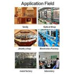 Machine de nettoyage en verre ultrasonique de 22L, appareil de chauffage ultrasonique de décapant avec la minuterie, utilisation commerciale en laboratoire d'usine d'électronique