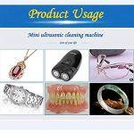 Mini Bijoux Nettoyeur Ultrasons 150ml Professionnel Machine De Bain pour Bijoux Bague en Argent Boucle d'oreille Commerciale Utilisation Domicile Fauay