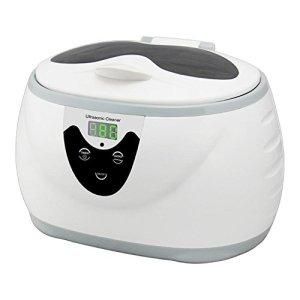 Nettoyeur à ultrasons, 0.6L 35W 40kHz Numérique lavage Une baignoire Réservoir Paniers Bijoux Montres Dentaire Mini Ultrason Nettoyeur Une baignoire