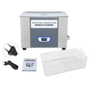 Nettoyeur à ultrasons en acier inoxydable SUS304 LCD machine de nettoyage par ultrasons TUC-13 laboratoire réglable de puissance industrielle(30L)