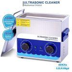 Washing Machine Nettoyeur à Ultrasons 3.2l Professionnel 120w Digital avec L'appareil Chauffage Et Panier pour Dentier Pièces De Monnaie équipement De Tatouage Outils De Laboratoire Etc Fauay