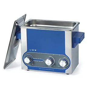Washing Machine Nettoyeur à Ultrasons Professionnel 3L avec Puissance élevée Réglable Minuterie Chauffage, Inoxydable d'acier avec Panier pour Dentiers,Verres,Montres,Articles en Métal, Etc Fauay