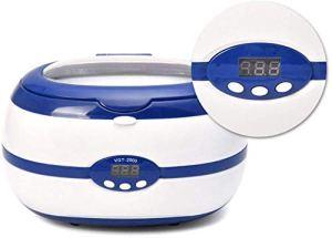 Sooiy 600ml Petit Nettoyeur à ultrasons pour Bijoux Verres de Montres Nettoyage Rasoir dentier Machine 220v sanitizer