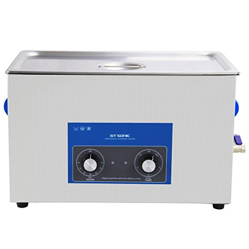 Nettoyeur a Ultrasons 20L Professionel (chauffage 500W) avec vidange! +panier +couvercle