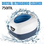 Nettoyeur à Ultrasons 750ML pour Bijoux CD Lunettes Bracelet Cosmétique Outils de Laboratoire Instruments Accessoires et etc