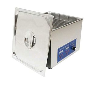 14L multifonctionnel en acier inoxydable nettoyeur à ultrasons de qualité industrielle machine à laver avec un panier 80kHz haute fréquence