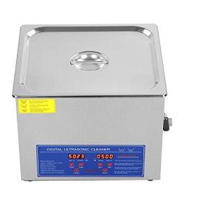 15L professionnel multifonctionnel en acier inoxydable nettoyeur à ultrasons Digital Qualité commerciale