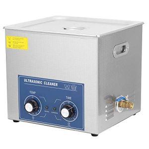 19L professionnel en acier inoxydable nettoyeur à ultrasons machine de nettoyage mécanique Chauffage Courroie réglable Qualité commerciale