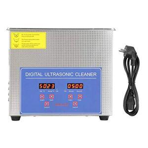 Ausla Bac ultrasons,Nettoyeur A Ultrasons 3L Ultrasonic Cleaner Professionnel Nettoyeur Digital Affichage Ultrasonique (3L)