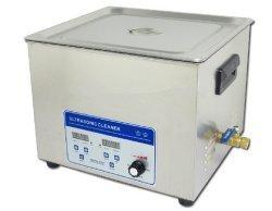 Gowe 110V/220V 360W 15L nettoyeur à ultrasons de nettoyage en acier inoxydable machine de nettoyage