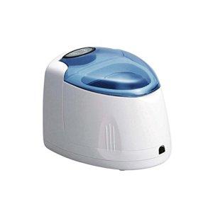 Mini Nettoyeur à Ultrasons 200ml Ultrasonique Bijoux Nettoyeur, Outil de clou, Regarder nettoyage, Dentier Machine Avec Panier