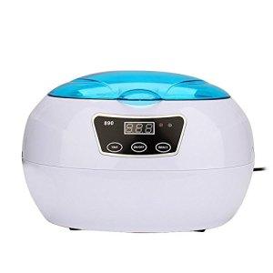 Numérique Nettoyeur à Ultrasons 600ML Machine Ultra Sonique Minuteur Réglage Une baignoire Panier Accueil Nettoyage Appareil
