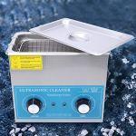 Belissy 3.2L Nettoyeur à ultrasons en Acier Inoxydable chronométrage mécanique de systèmes de Chauffage Nettoyage de Laboratoire 230HT (EU Plug 200-240)