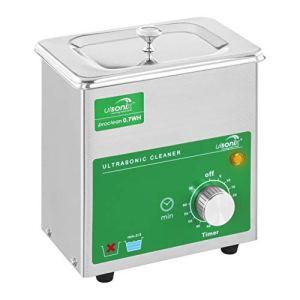 Ulsonix Nettoyeur à Ultrasons Proclean 0.7 WH (BASIC, capacité 0,7L, fréquence du son 40 kHz, minuterie 0-60 mn/marche continue)