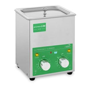 Ulsonix PROCLEAN 2.0M ECO Nettoyeur Ultrason Professionnel Bac Ultrason Nettoyage Ultrason (2 L, Puissance d'Ultrason 60 W, Puissance de Chauffe 50 W, 40 kHz, Minuterie 60 min, Acier Inoxydable)