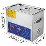 VEVOR Nettoyeur A Ultrasons 3L Ultrasonic Cleaner Professionnel Nettoyeur Digital Affichage Ultrasonique (3L)