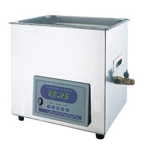 10L Bac à Ultrasons YJ-5200DT 1-60min Nettoyeur Ultrasonique