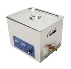 10L multifonctionnel en acier inoxydable nettoyeur à ultrasons Digital Thermostat paramètres, câbles, puissance réglable avec un panier
