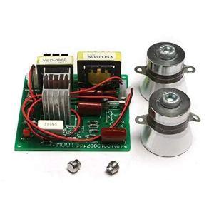 Module d'alimentation Avec 2Pcs 50W 40K, Transducteurs Conseil AC 220V Nettoyeur à ultrasons Driver Power