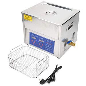 Nettoyeur à ultrasons MH-040X, synchronisation + chauffage + affichage numérique 10L nettoyeur à ultrasons chauffage nettoyage par ultrasons, nettoyage de bain de réservoir Ultra sonique (220V)