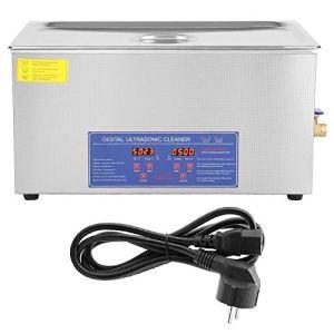 AYNEFY 22 L Nettoyeur à ultrasons numérique, machine pour le nettoyage à ultrasons en acier inoxydable, nettoyage des bijoux pour usage domestique domestique domestique
