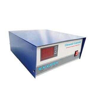 CGOLDENWALL Générateur ultrasonique numérique à double fréquence 300 W Nettoyeur à ultrasons pour bijoux/verre Nettoyeur de machine de nettoyage par vibrations (25 kHz)