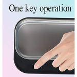 CSDY-Nettoyeur Ultrasons 500Ml, Appareil De Nettoyage Ultrasons, Bac Ultrasons, Nettoyage des Bijoux, Bagues, Lunettes, Dentier, Montre,Blanc