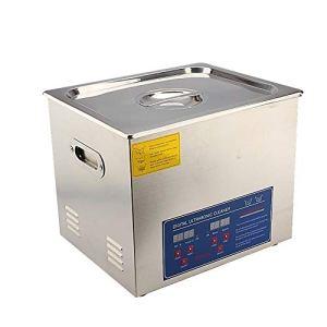 SOULONG 1,3L-30L Nettoyeur à ultrasons numérique Ultrasonic Nettoyeur à ultrasons Couvercle en Acier Inoxydable avec poignée et Pieds en Caoutchouc antidérapants, 22L