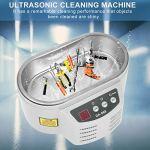 Nettoyeur à ultrasons, avec des bijoux à ultrasons professionnels de modèle dentaire en plastique 40KHz