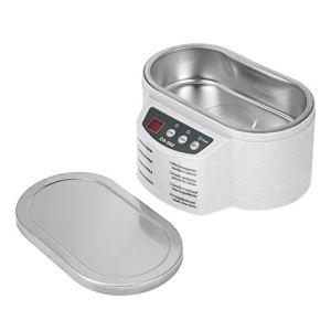 Nettoyeur à ultrasons, mini interrupteur d'alimentation à ultrasons ordinaire en plastique 600 ml