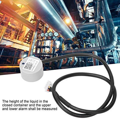 Yctze Capteur de Niveau de Liquide à ultrasons, Valeur de Hauteur de Liquide de Sortie en Temps réel, Petite Taille, Facile à Installer, Port série UART à détection de Liquide 3.3~1
