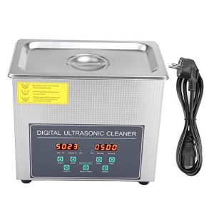 AYNEFY Nettoyeur à ultrasons – 3 l – En acier inoxydable – Avec double fréquence – Prise européenne 220 V