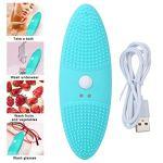Cocosity Nettoyeur à ultrasons, Mini Machine de Nettoyage de Nettoyeur de vêtements de Chargement USB Portable avec Mode d'induction de Choc d'ondes sonores pour Le Bain, Les sous-vêtements, Les