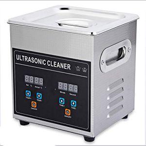 Équipement Portable 2L 3.2L Nettoyeur à ultrasons Machine à ultrasons minuterie de Chauffage réglable Nettoyage Bijoux Fausse dent Rasoir 220-240V A