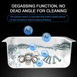 Grande machine à laver professionnelle en acier inoxydable pour nettoyeur à ultrasons avec minuterie de chauffage pour lunettes Composants de montres de bijoux (30L-840W)