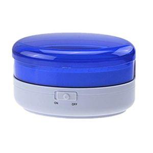 Nettoyeur À Ultrasons 600 ML Nettoyeur De Bijoux pour Coupeurs Manucure Micro Outils Prothèse Lunettes Rasage Machine De Nettoyage À Ultrasons (Color : Blue)