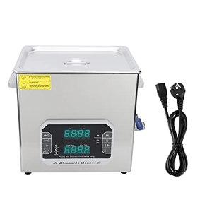 Nettoyeur à ultrasons, minuterie numérique à un bouton 33 / 40kHz en acier inoxydable 300W pour une période de temps.