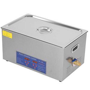 Wakects Nettoyeur à ultrasons numérique, 22 L Nettoyeur à ultrasons en acier inoxydable avec minuteur numérique, nettoyage des bijoux pour usage domestique domestique domestique