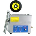 CGOLDENWALL PS-30T 6L Nettoyeur à ultrasons en vinyle pour vinyle, machine de nettoyage à ultrasons (4 disques)