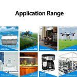 LANTRO JS – 1PC XKC-Y26A-NPN 5~12V IP65 NPN Interface de sortie capteur de niveau de liquide sans contact capteur de niveau de liquide à ultrasons