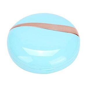 Cerlingwee Nettoyeur de lentilles de Contact matériel ABS rondelle USB Nettoyeur de lentilles de Contact Machine Nettoyeur à ultrasons, pour dortoir école de Bureau à Domicile(Mint Blue)
