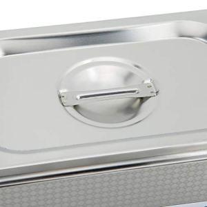 Germerse 800 ML, Machine de Nettoyage résistante à la Corrosion de Nettoyeur à ultrasons EU Plug pour Bijouterie