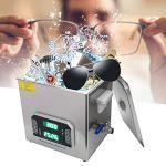 Nettoyeur à ultrasons, laveuse à ultrasons numérique 10L, outil de nettoyage de lunettes de bijoux de Machine de nettoyage à ultrasons professionnel
